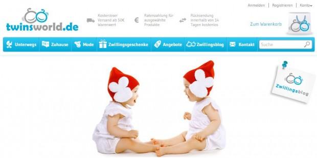Twinsworld.de Startseite