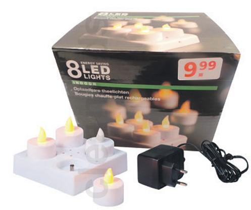 Kruidvat ruft wiederaufladbare LED Teelichter zurück