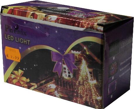 Verpackung der betroffenen Lichterkette - Bild: tonerdumping.de