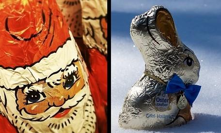 Aus Weihnachtsmann wird nicht Osterhase: Schokofiguren werden neu hergestellt