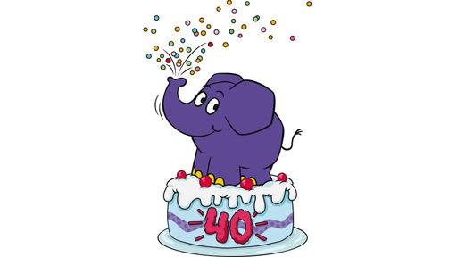 40 Jahre kleiner blauer Elefant - Bild: © WDR