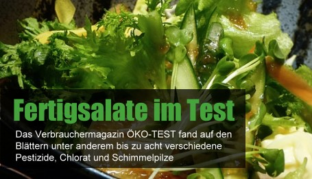 ÖKO-TEST Fertigsalate