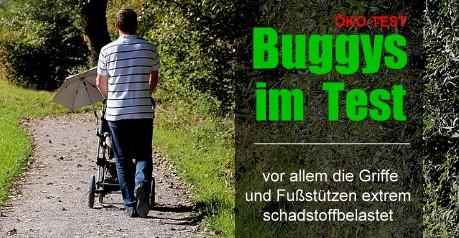 ÖKO-TEST Buggys - Reisebegleiter mit Schadstoffproblem