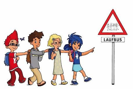 """Aktionstage """"Zu Fuß zur Schule und in den Kindergarten"""""""