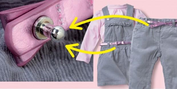 Das Unternehmen rät, den Gürtel zu entsorgen. Betroffene Baby-Set's bzw. die Hose samt Gürtel können aber auch in jeder C&A Filiale zurückgeben werden - Bild: C&A