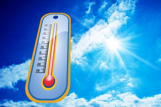 Hitzewarnung - Vor allem mit Kindern aufpassen!