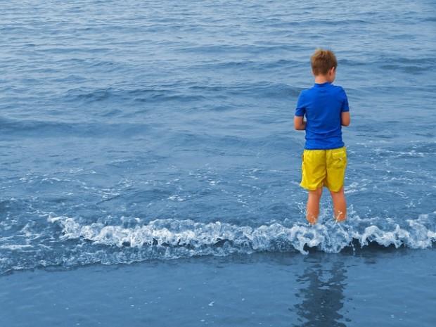 Die Nordsee bietet sich für einen Urlaub mit kleinen Kindern anDie Nordsee bietet sich für einen Urlaub mit kleinen Kindern an