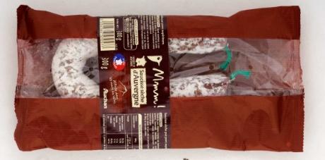 """Rückruf: Salmonellen in """"Saucisse seche D'Auvergne""""n von Auchan"""
