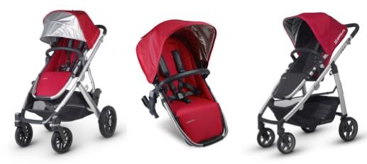 """Rückruf / Warnung:  Kostenloses Sicherheits-Kit für UPPAbaby """"Cruz"""" und """"Vista"""" Kinderwagen"""