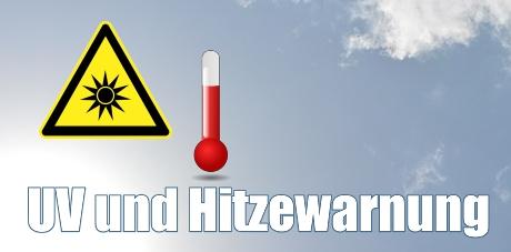 Deutscher Wetterdienst warnt vor extremer Hitze und hoher UV-Strahlung