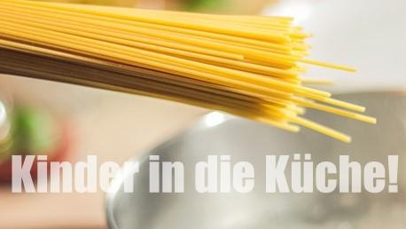 """Stiftung Kindergesundheit: """"Holt die Kinder in die Küche!"""""""