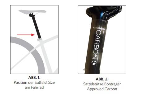 Rückruf: Trek ruft Räder mit Carbon-Sattelstütze von Bontrager zurück