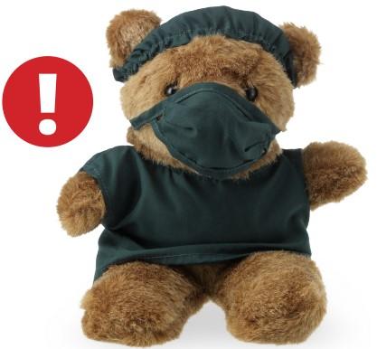 """Rückruf: Erstickungsgefahr bei """"Doc Bear"""" -Teddybär"""