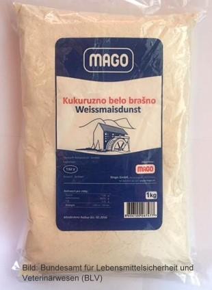 """Schweizer Behörde warnt vor hohen Schimmelpilzgift Konzentration in Weissmaisdunst von """"Mago"""""""