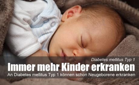 Rätselhafter Anstieg: Immer mehr Kinder erkranken an Diabetes mellitus Typ 1