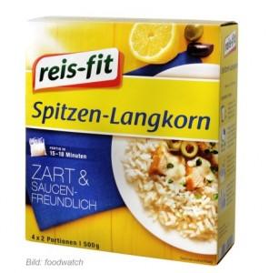 """Real stoppt Verkauf von """"reis-fit Spitzenlangkornreis"""""""