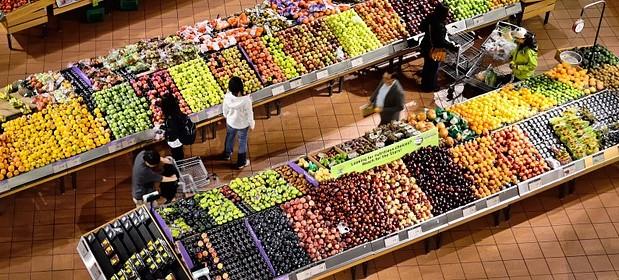 Viele Supermärkte und Discounter verkaufen Schimmel-Obst und -Gemüse