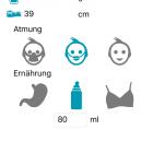 Mit der neoApp kannst Du die Entwicklung Deines Babys ganz einfach beobachten