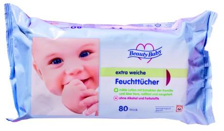 Einige Babyfeuchttücher enthalten den in Kosmetik verbotenen Gefahrstoff PHMB - Bild: ÖKO-TEST