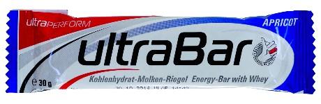 Der  Ultra Bar Kohlenhydrat-Molken-Riegel, Apricot erhielt im Test ein ungenügend - Bild ÖKO-TEST