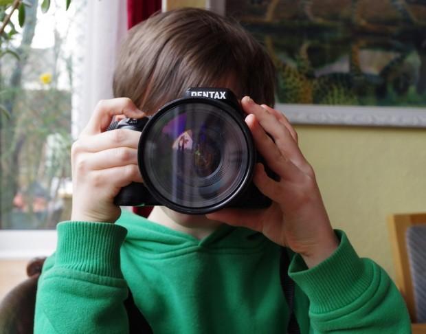 Kinderfotos – Wenn die Kleinen selbst zum Fotografen werden