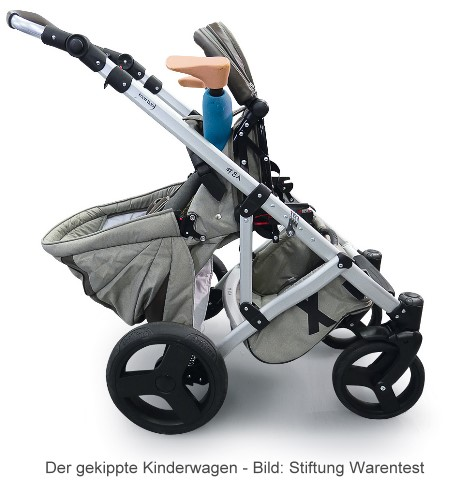 stiftung warentest warnt kippgefahr bei kinderwagen von. Black Bedroom Furniture Sets. Home Design Ideas