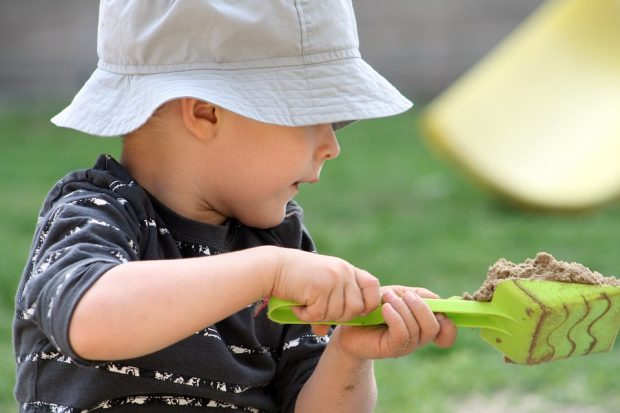 Kindergesundheit: Infektionsquelle Sandkasten?
