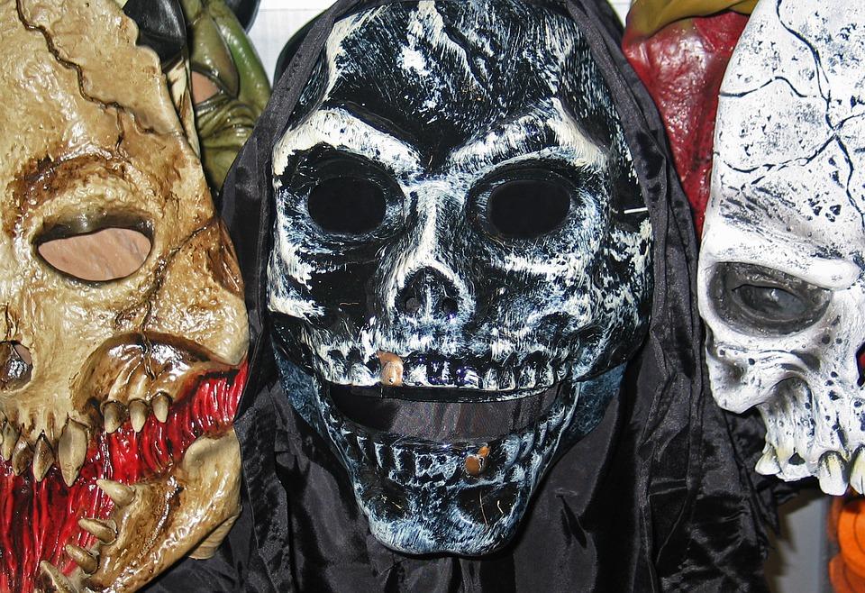 Halloween Masken - Symbolabbildung