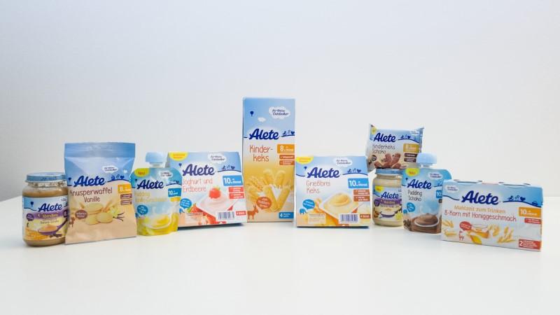 Alete-Produkte mit Zuckerzusatz - Bild: foodwatch e.V.