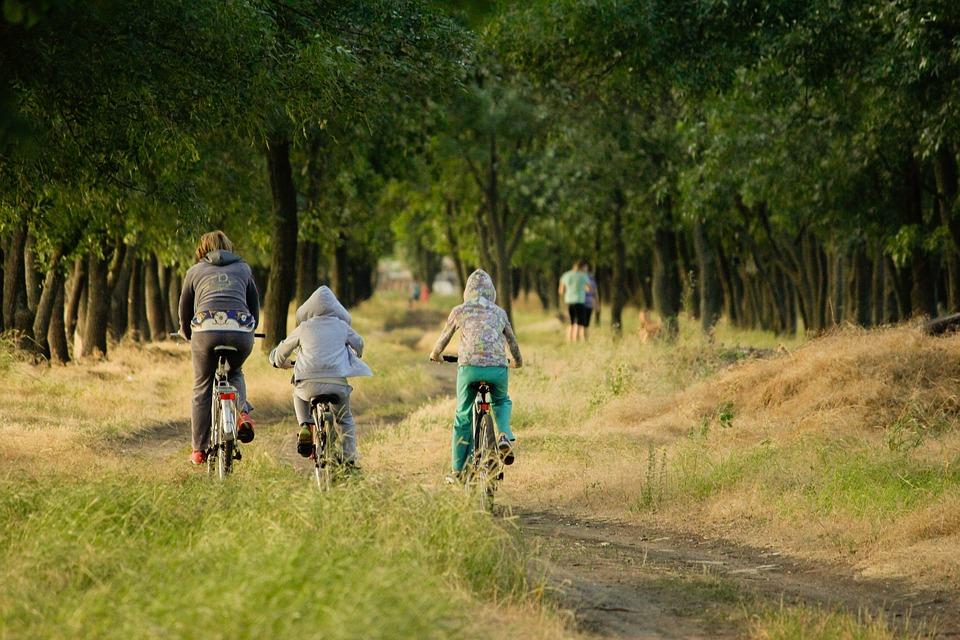 Auf dem Rad oder zu Fuß gibt es in der Natur viele tolle Dinge zu entdecken.