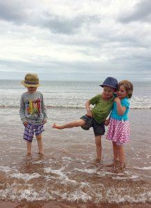 Jeder Aufenthalt am Meer ist ein tolles Erlebnis – für die Kleinen wie die Großen.