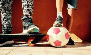 Ältere Kinder sollten viel Sport treiben