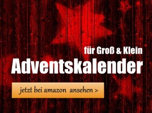 Adventskalender für Groß & Klein bei amazon