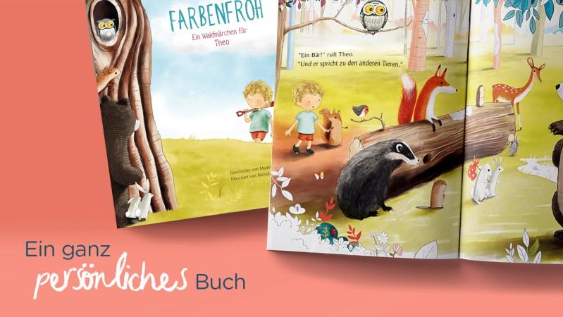 Librio erstellt personalisierte Kinderbücher für Kinder von zwei bis sieben Jahren