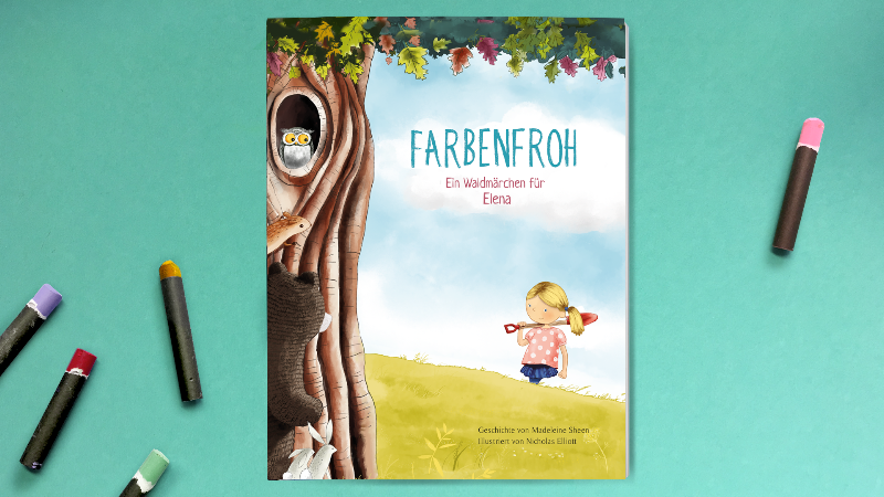 """In """"Farbenfroh"""" erlebt Ihr Kind Abenteuer mit den Bewohnern eines Waldes"""