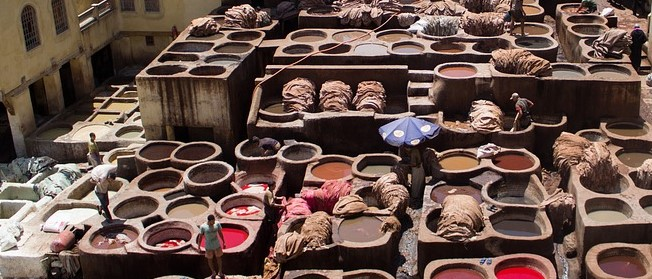 Gerberei in Marokko - pixabay