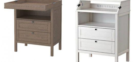 SUNDVIK Wickeltisch/Kommode - Abbildung: IKEA Deutschland GmbH & Co. KG