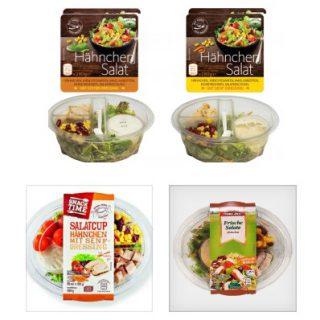 Salat rückruf