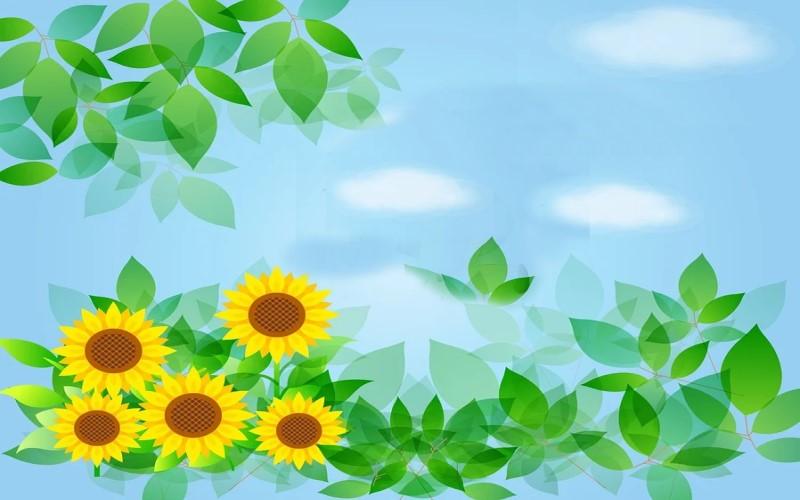 Empfehlung: Eine Fototapete mit Blumen als zeitlose Wanddekoration